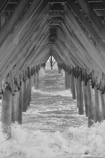 Topsail Island Pier photo