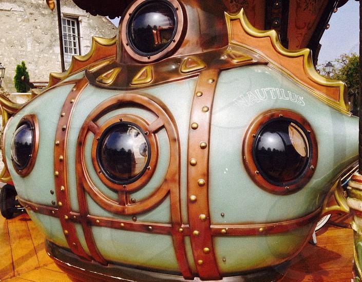 Nautilus merry go round France.  photo