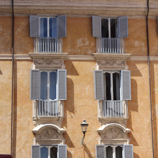 Rome travel windows building architecture  photo
