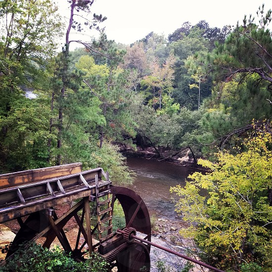 Mississippi chunky River water mill photo
