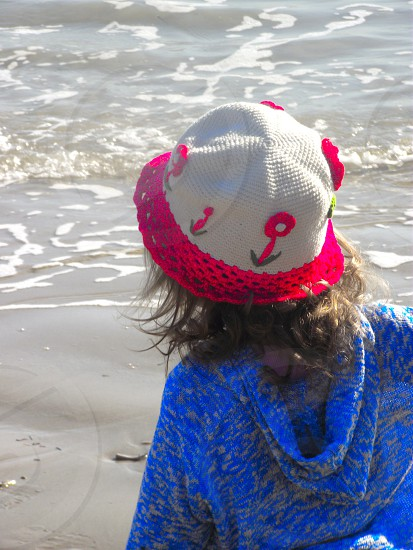 Child at the beach. photo