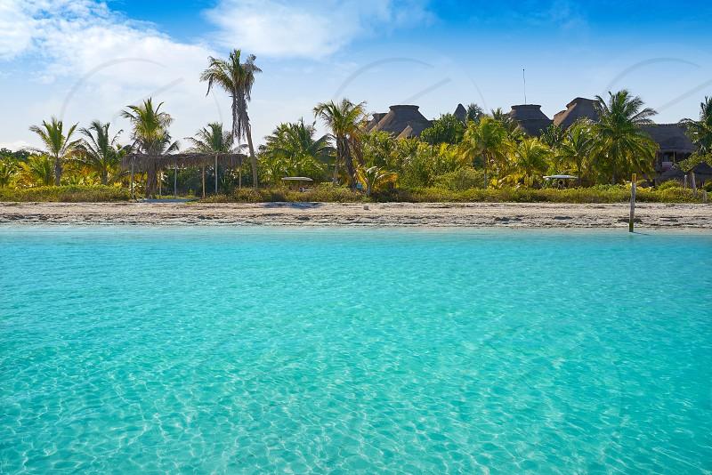 Holbox Island beach in Quintana Roo of Mexico photo
