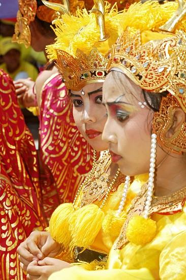 Bali creative carnival parade in Kuta photo