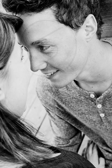 couple love in love happy boy girl eyes photo