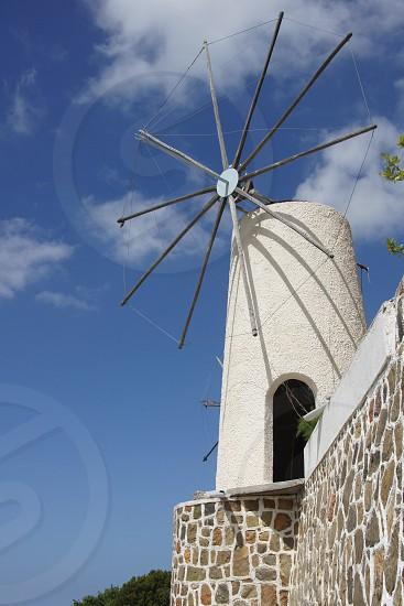 Mill windmill greece crete wind argiculture  photo