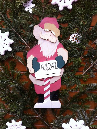 nordpol print christmas decor photo