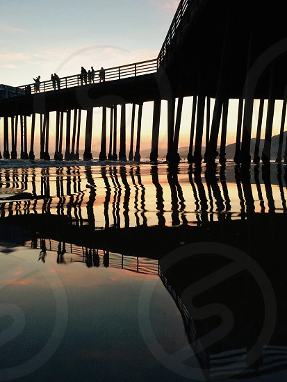 wooden piers photo photo