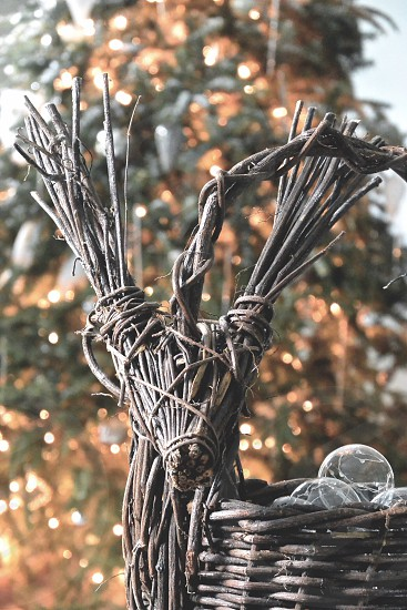 Christmas Ornaments Deer Tree  photo