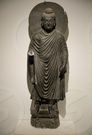 New Delhi India September 26 2019 2nd Century Greco Buddhist Statue Of Standing Buddha From Gandhara In The National Museum Of India In New Delhi By Mirko Kuzmanovic Photo Stock Snapwire
