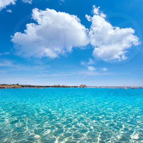 Cape Cod Provincetown beach digital edited sea as photo illustration photo
