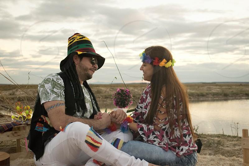 love hippie lake love photo