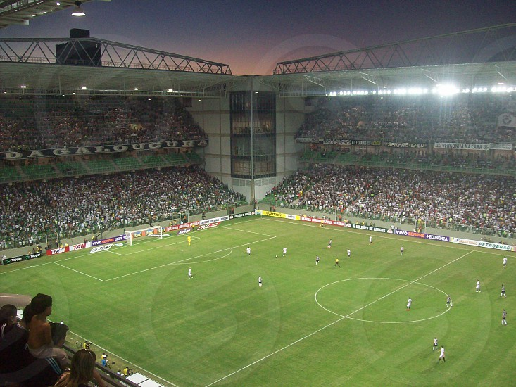 Independência Stadium at Belo Horizonte. Soccer Game photo