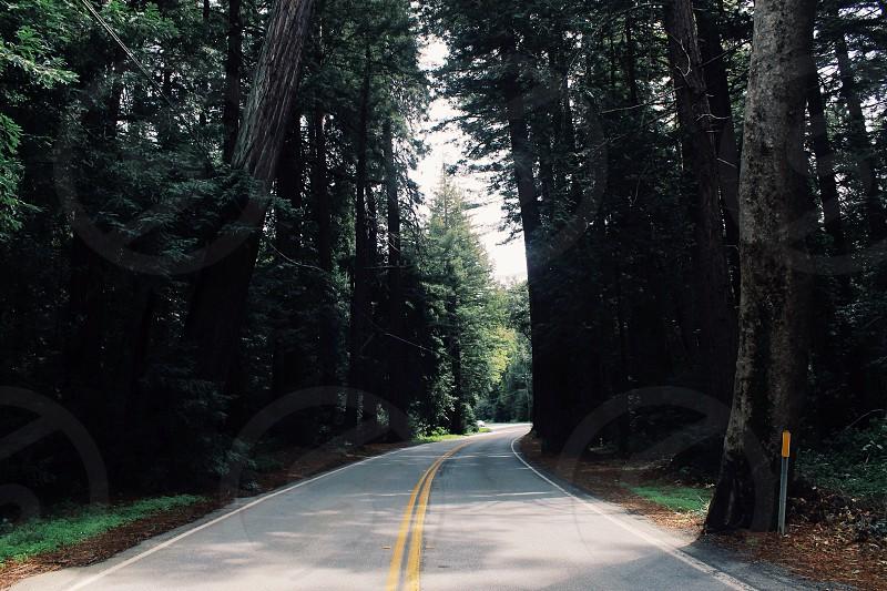Open road photo