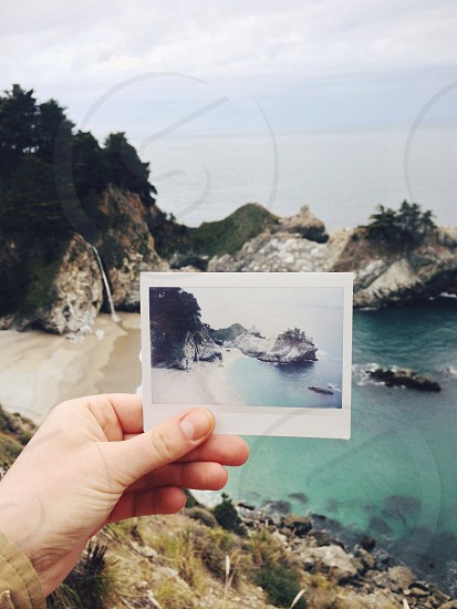 Big Sur California instax photo