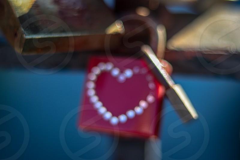Love locks in Palma de Mallorca - Vallentines is everywhere photo
