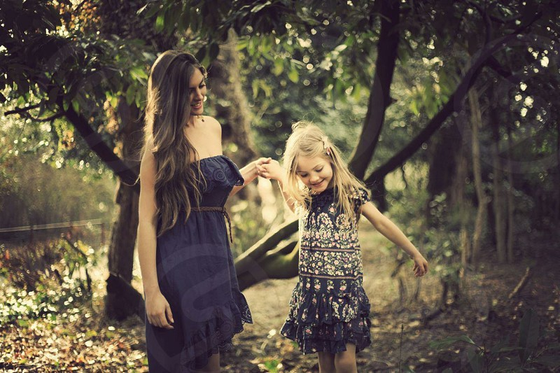 Mother and daughter - Daniella and Francesca  photo