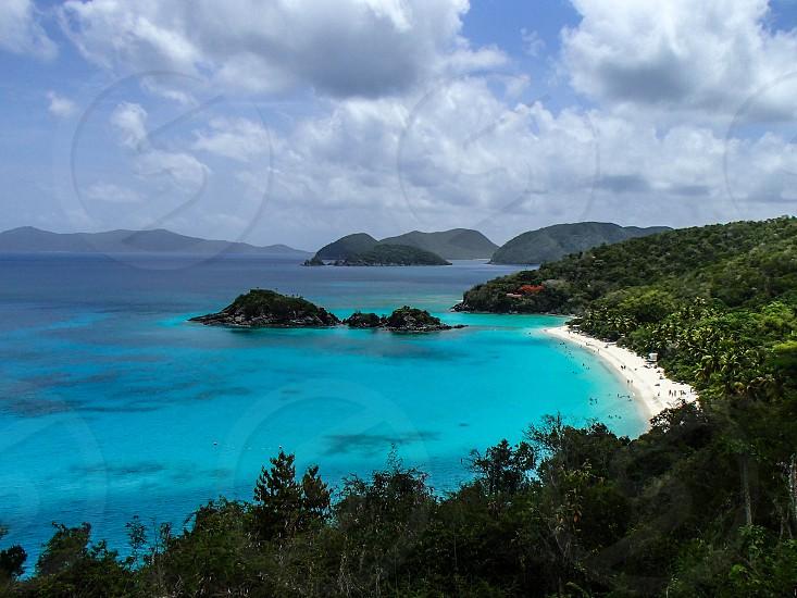 Paradise. Trunk Bay St John USVI photo
