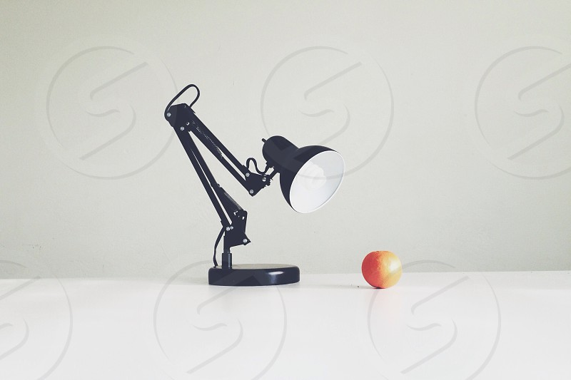 black lamp  photo