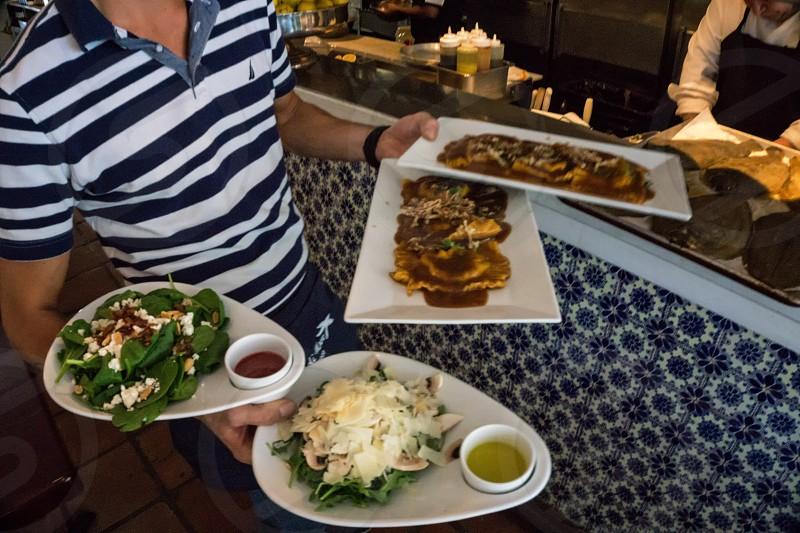 Coconut Grove Miami lunch salad pasta  photo