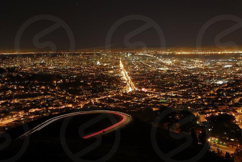 city night light photo