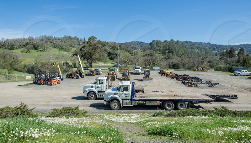 Blue Line Rental Equipment Company located in Cloverdale CA photo