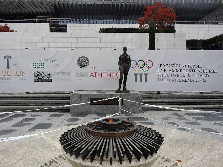 Olympic Museum in Lausanne Switzerland photo