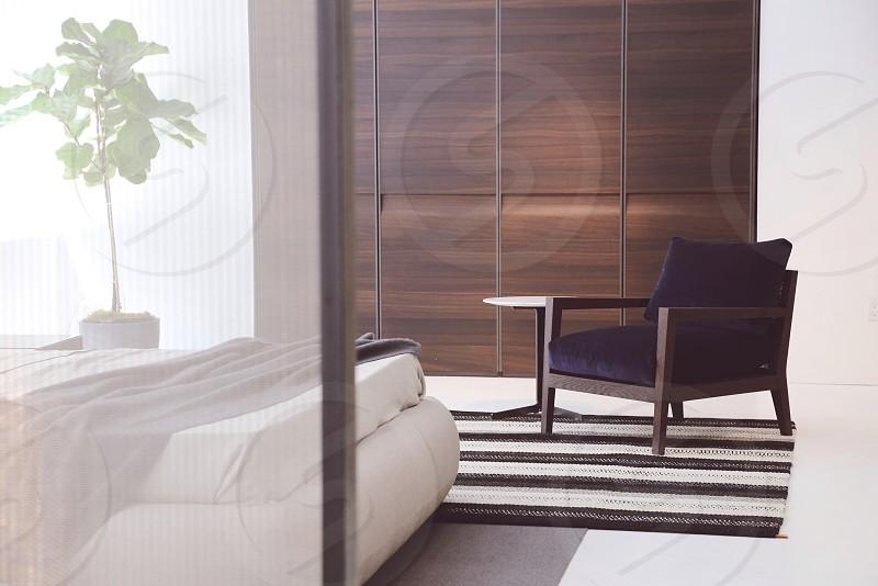 modern bedroom minimal bedroom bed with chair bedroom with plant vsco vscocam vsco s1 photo