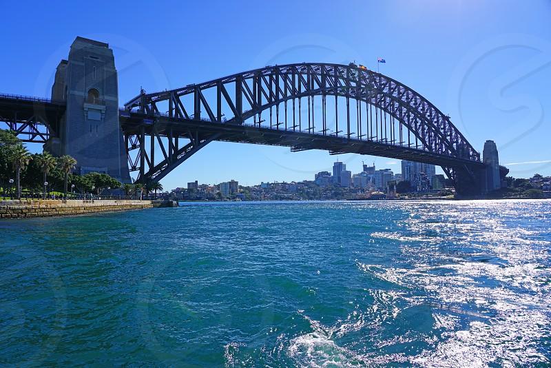 Sydney Australia Australian nsw New South Wales down underbridgeHarbourharborSydney Harbour bridge photo