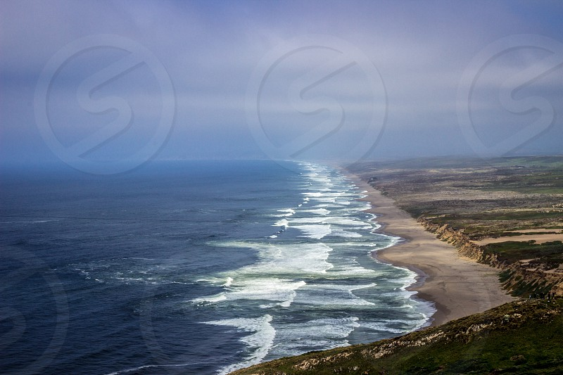 The Ocean is so beautiful. Point Reyes California.  photo