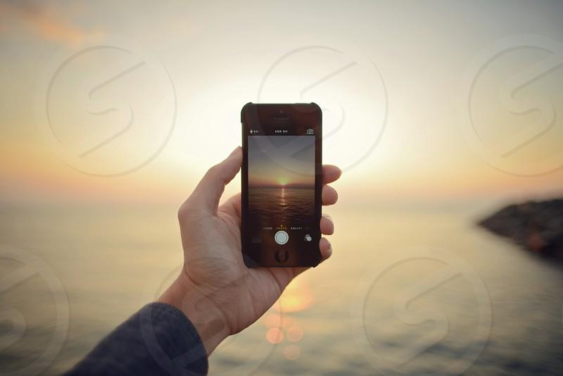 Catching the sunrise.  photo