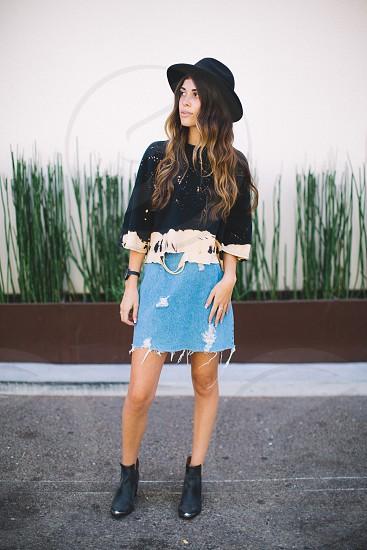 One of a kind Nicole Coronado fashion photo