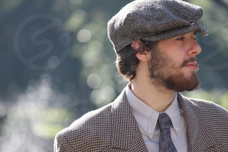 Male beard photo