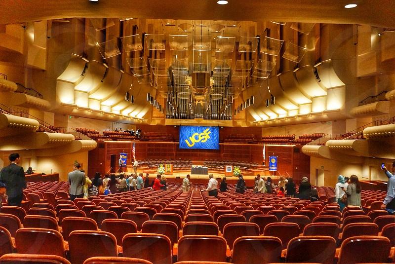 UCSF School if Dentistry graduation at Davies Symphony Hall San Francisco CA. photo