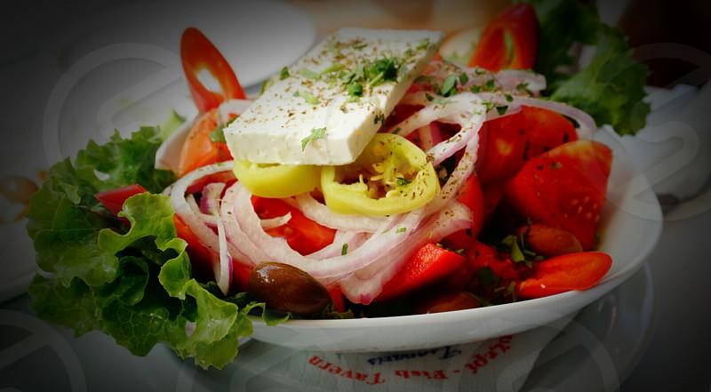 Greek salad What else? photo