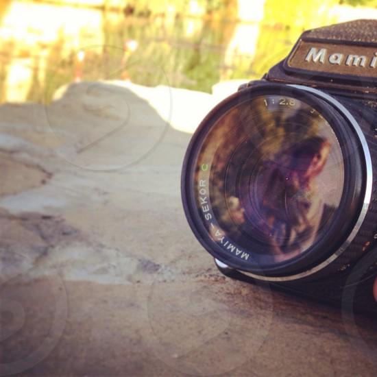 Reflection lens photo