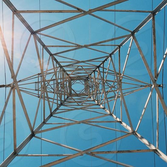 white metal network tower photo