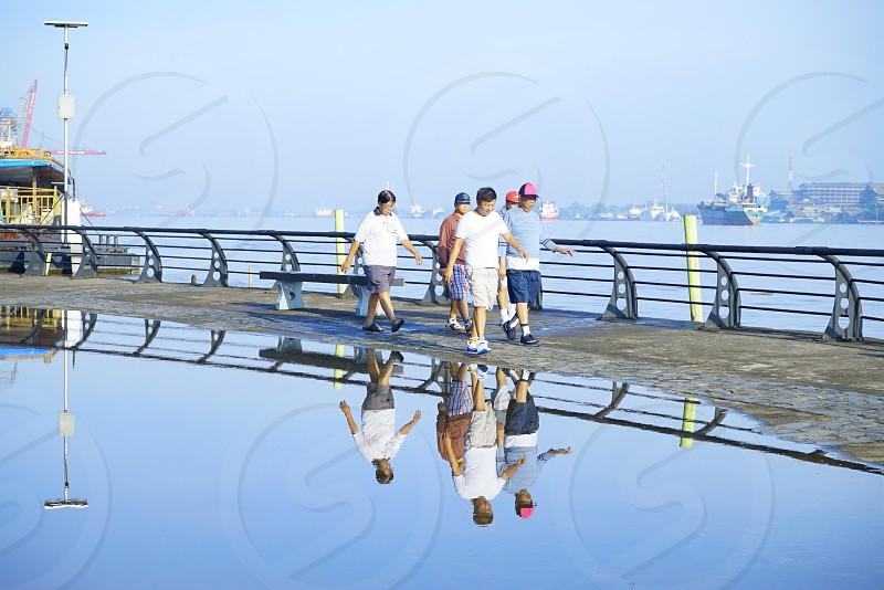 Morning Jogging Sport People photo
