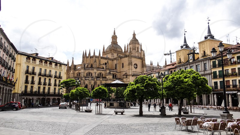 Segovia Cathedral - Segovia Spain. photo