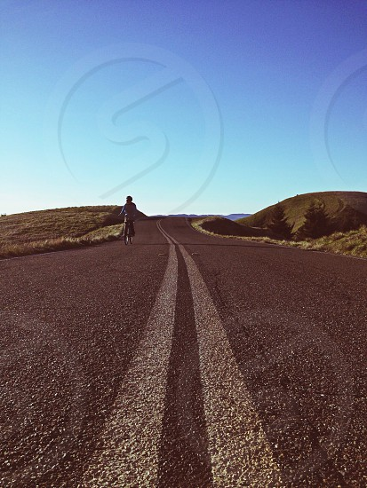 road and sky photography  photo