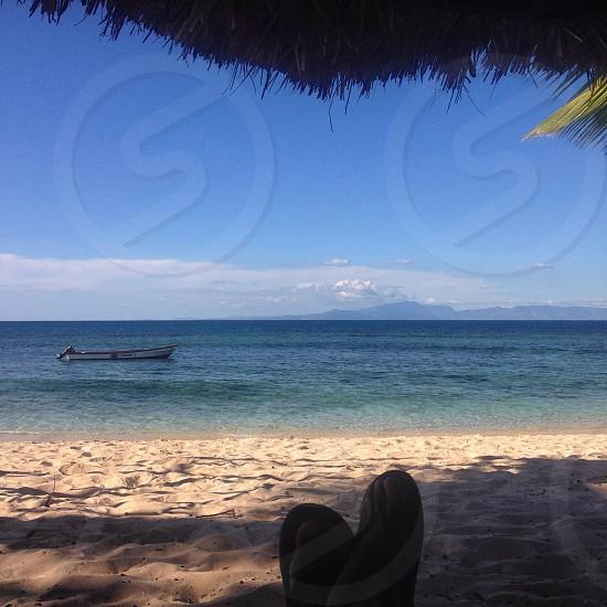 Chill time Tavarua Island Fiji photo