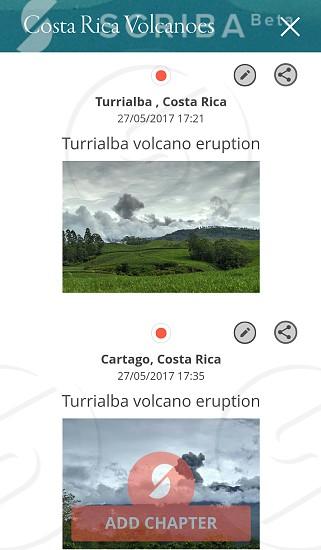 Turrialba volcano eruption at 27/05/2017 17:21 photo