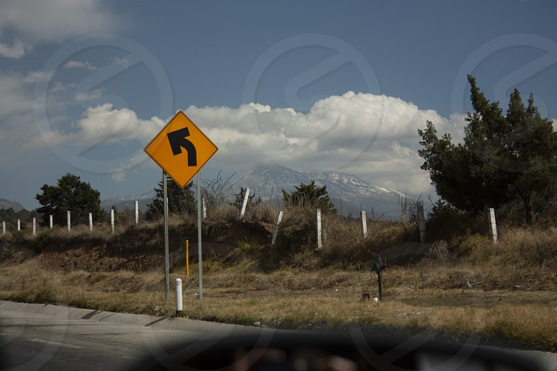 Road signs in Mexico photo