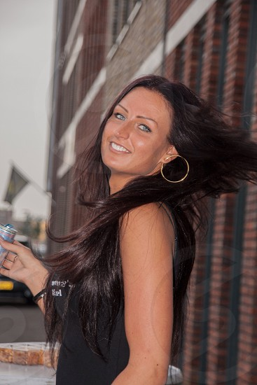 Girl smile makeuplight photo