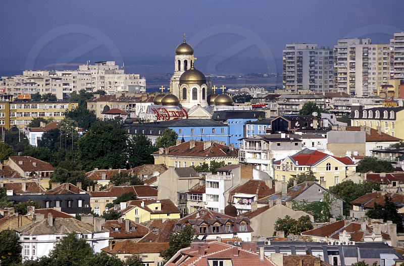 the city centre of Varna on the Blacksea in Bulgaria in east Europe. photo