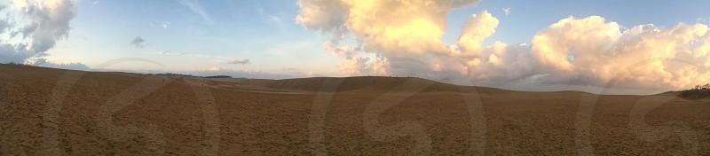鳥取砂丘 tottori sand dune sand dune photo