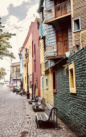 caminito Argentina vacations places architecture  photo