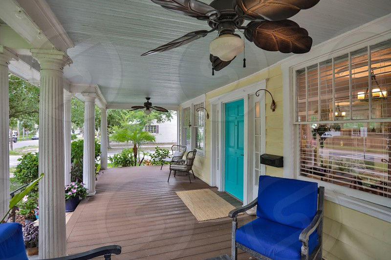 Front yard porch  photo