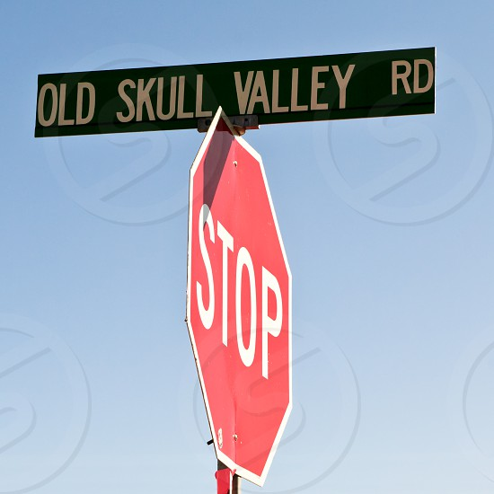 A strangely named road in Arizona. photo