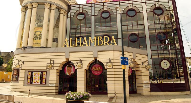 ENGLAND. WEST YORKSHIRE. BRADFORD. The Alhambra Theatre. photo