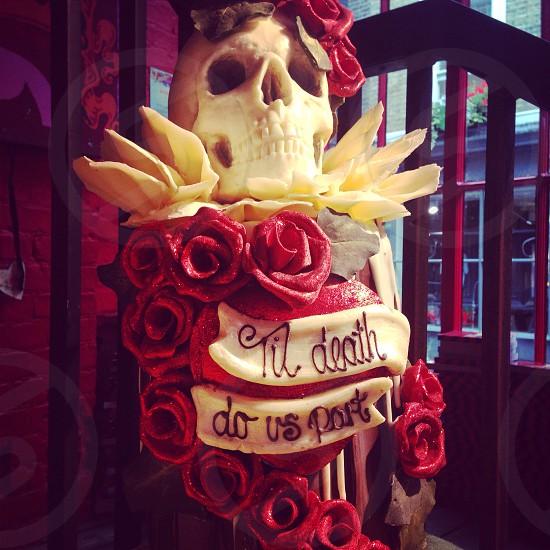 til death do us part decoration photo
